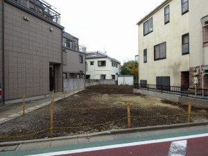 三軒茶屋プロジェクト① 戸建とテラスハウスの混合現場