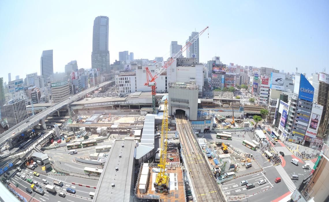 渋谷開発中