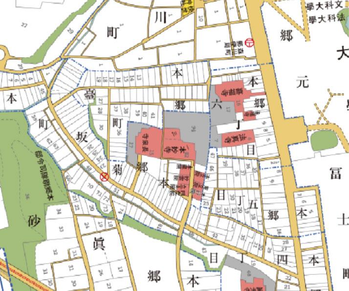 本郷5_古地図