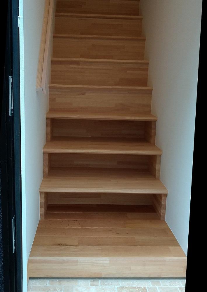 5.下足入れ-階段(加工)