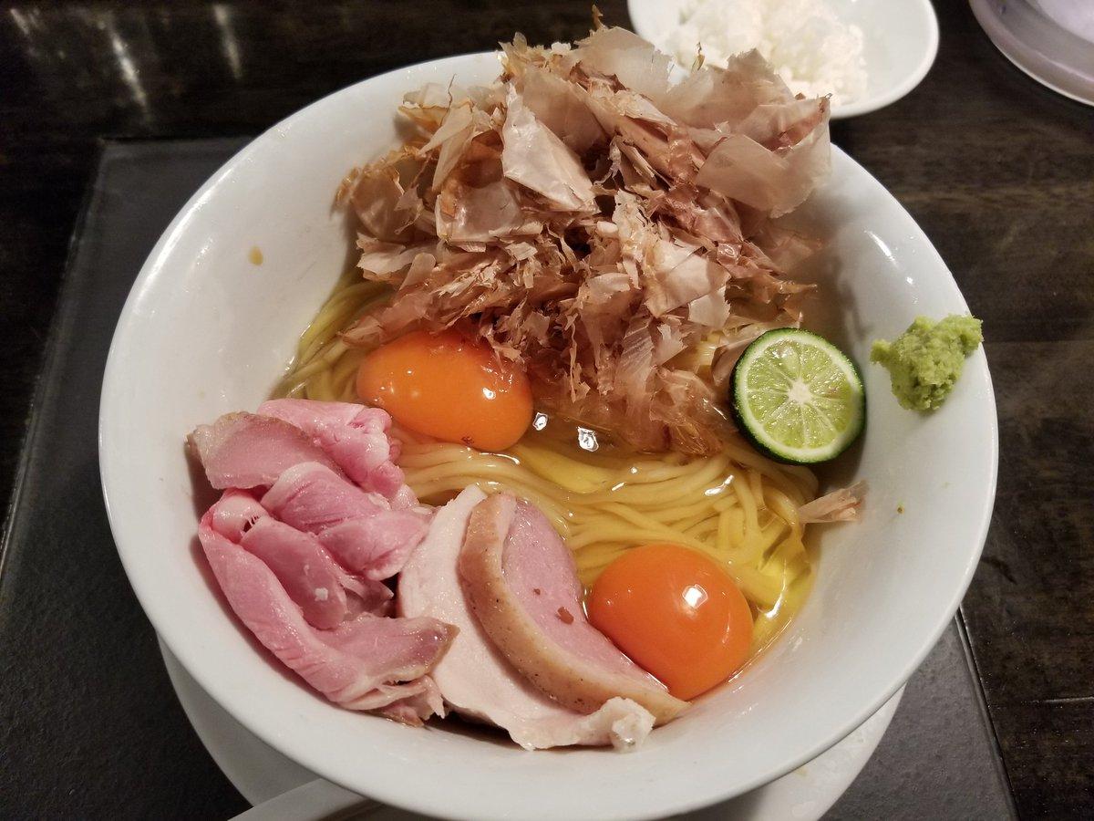 カネキッチンヌードル 鴨肉つけ麺