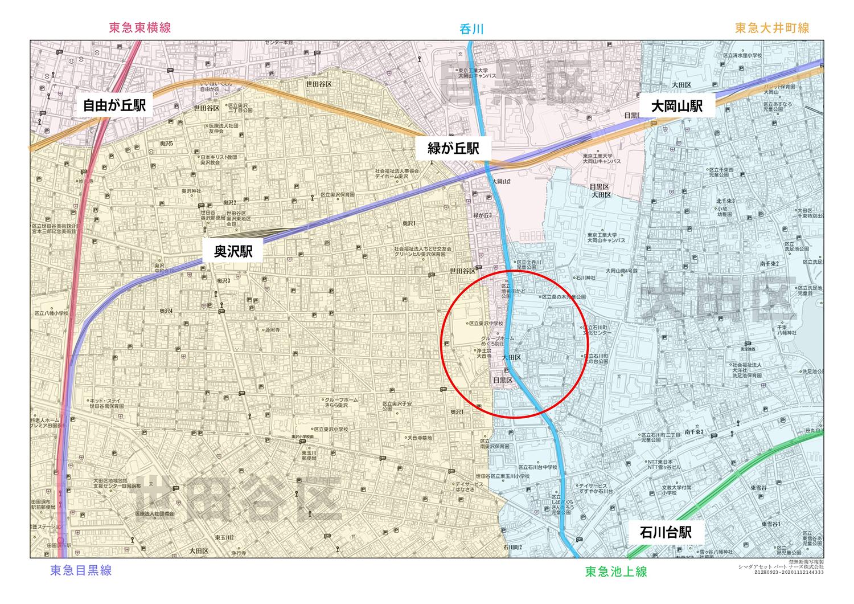 広域地図_大岡山
